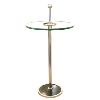Small Chrome Side Table