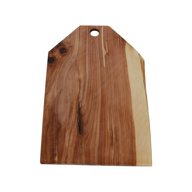 Cedar Wood Serving Board with Live Edge - Image 1 of 7