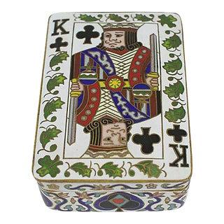 Cloisonne Card Box