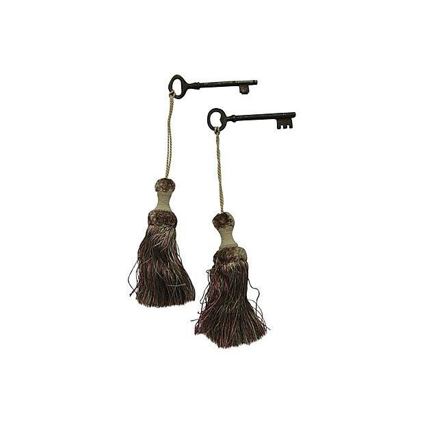 Image of Antique French Skeleton Keys - Pair