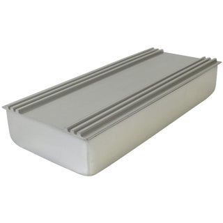 Art Deco Kensington Polished Aluminum Box