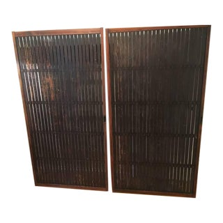 C. 1869 Japanese Meiji Era Doors- A Pair