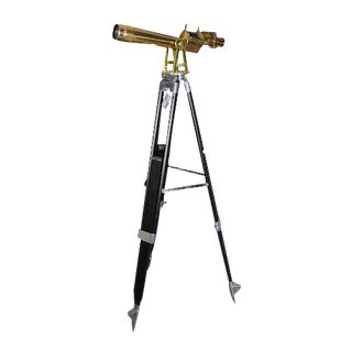 WWII W. & l.E. Gurley Bronze Telescope