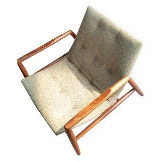 Reupholstered Adrian Pearsall Scoop Chair