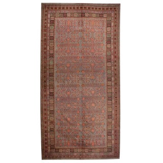 Antique Early 20th Century Samarkand Rug
