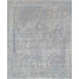 "Pasargad Transitional Silk & Wool Rug - 8'1"" X 10'"