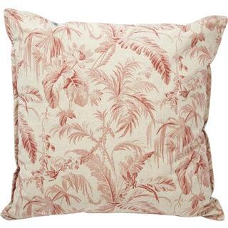 Palm Leaf Pillow I