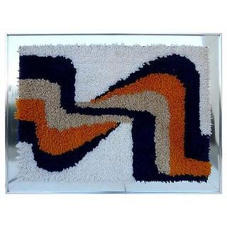 Framed Yarn Tapestry