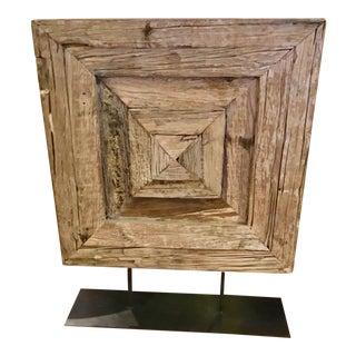 Studio A Alta Reclaimed Wood Sculpture
