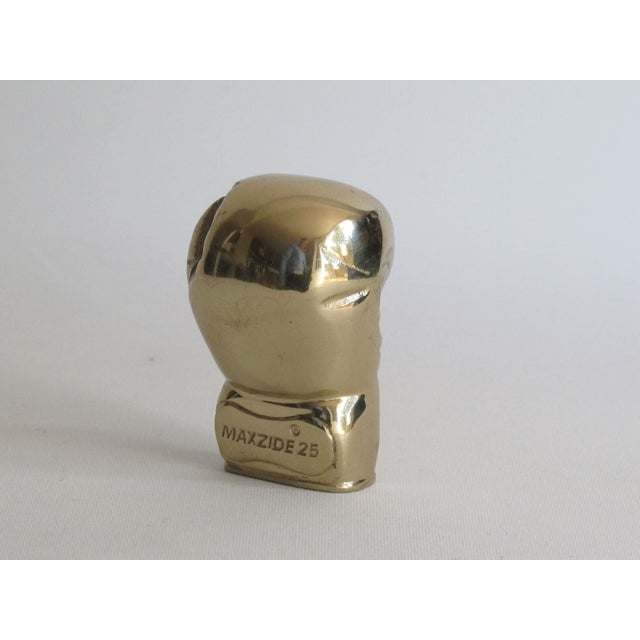 Image of Brass Boxing Glove