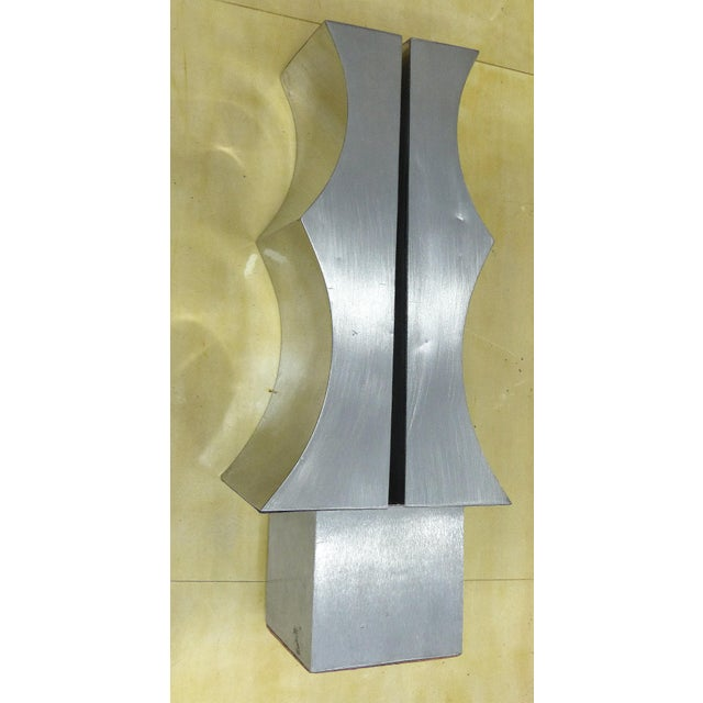 1970s Modernist Aluminum Sculpture by Yutaka Toyota - Image 10 of 11