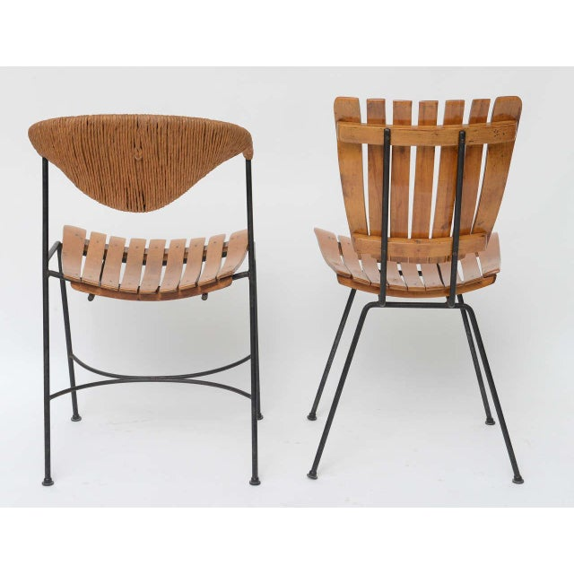Set of Four Arthur Umanoff Dining Chairs for Raymor - Image 6 of 10