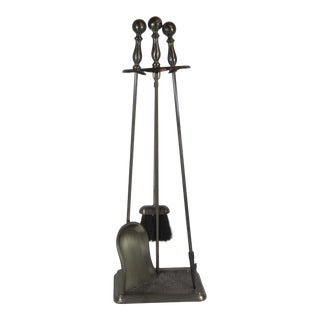 Bennett Ireland Fireplace Tool Set - Set of 4