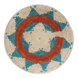 Native American Style Low Basket