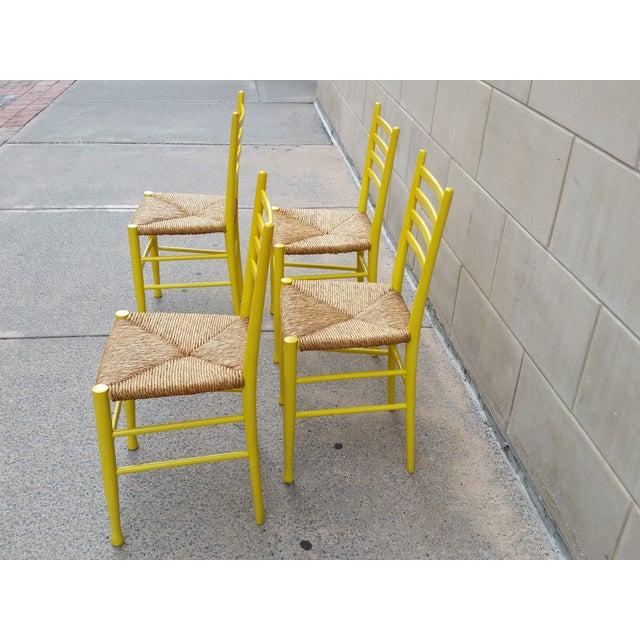 Mid-Century Gio Ponti Style Chairs - Set of 4 - Image 5 of 11