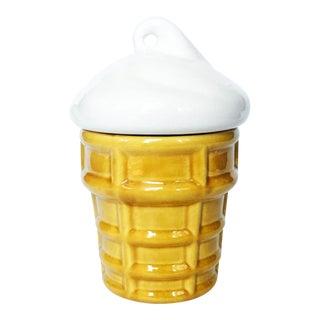 Vintage Ice Cream Cone Cookie Jar