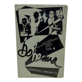 Circa 1980 Yo Mama Concert Poster