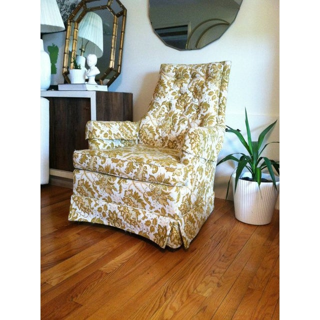 Floral Vintage Armchair - Image 2 of 6