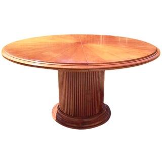 Grange Cherry Pedestal Dining Table