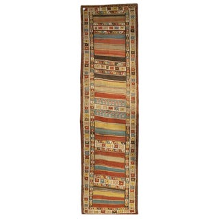 Early 20th Century Persian Zarand Kilim Runner