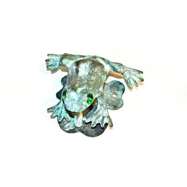 Bronze Frog Door Knocker With Glass Eyes - Image 2 of 10