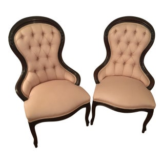Accent Chairs - A Pair