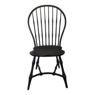 19th Century American Black New England Windsor Chair