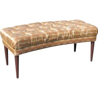 Modern Design Tufted Bench