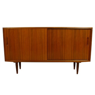 Danish Modern Walnut Sideboard/Media Cabinet