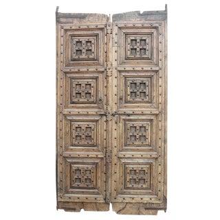 Antique Colonial Teak Door