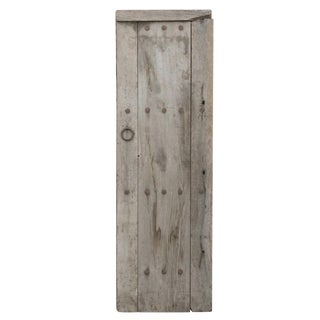 Oxidized Gray Farm Door