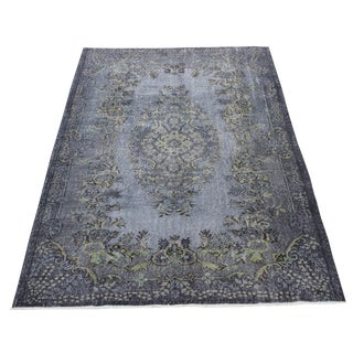 Vintage Turkish Overdyed Rug - 6′ × 8′10″