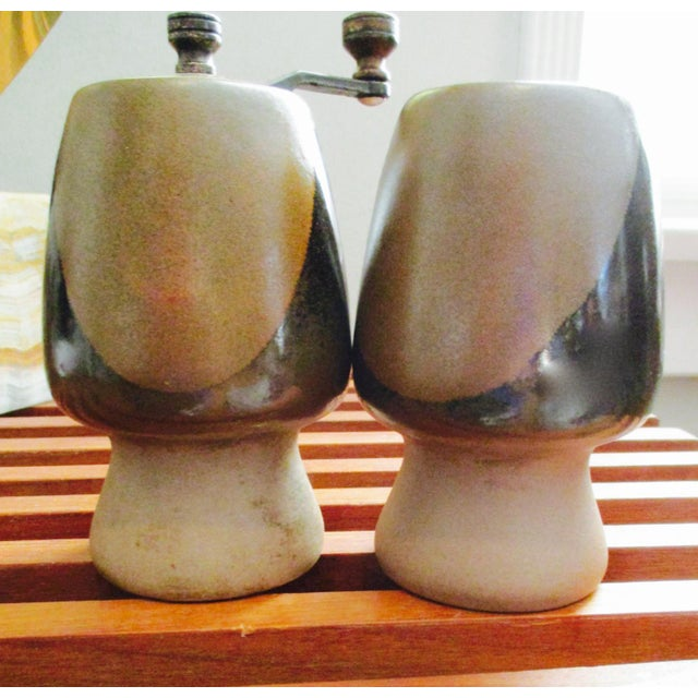 David Cressey Pottery Salt Shaker & Pepper Grinder - Image 5 of 9