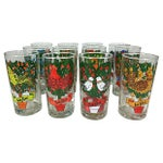 Image of Twelve Days of Christmas Glasses - S/12