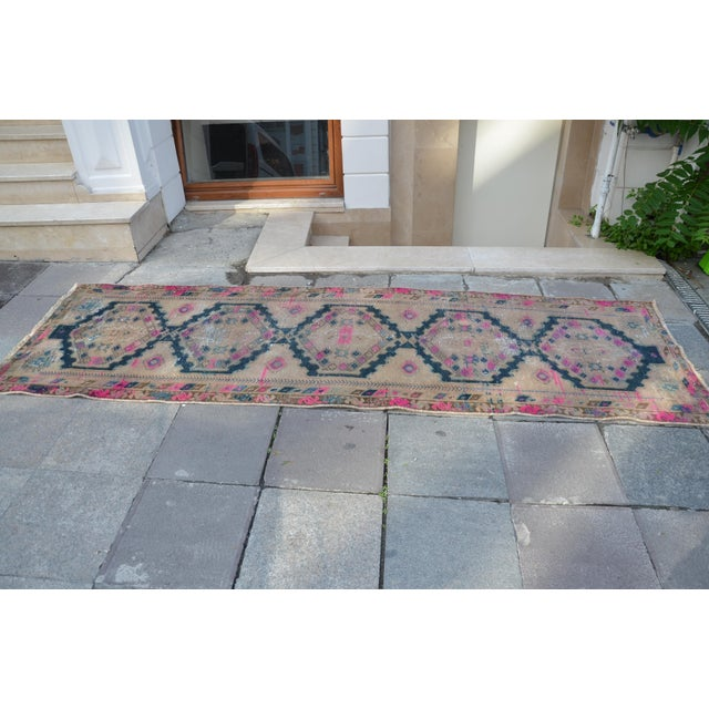 Antique Persian Runner Rug - 3′2″ × 9′11″ - Image 5 of 6