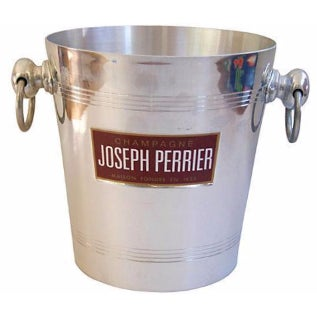 French Joseph Perrier Champagne Wine Bucket