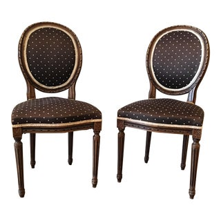 Queen Anne Side Chairs - A Pair
