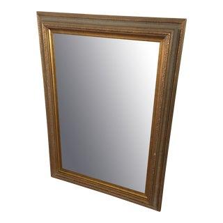 Antique Gold Finish Mirror