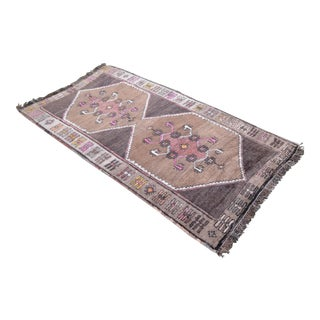 Hand Knotted Neutral Tribal Rug - 3′2 ″ x 6′1″