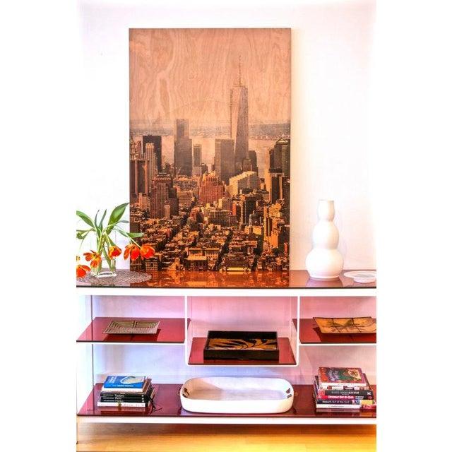 Image of New York City Photo on Wood