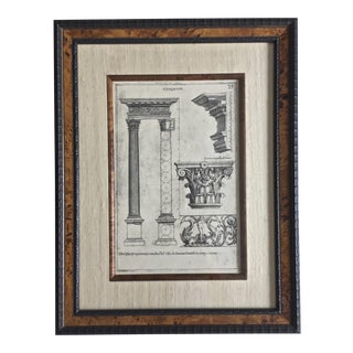 Classical Elemente of Architecture Print Plate #27