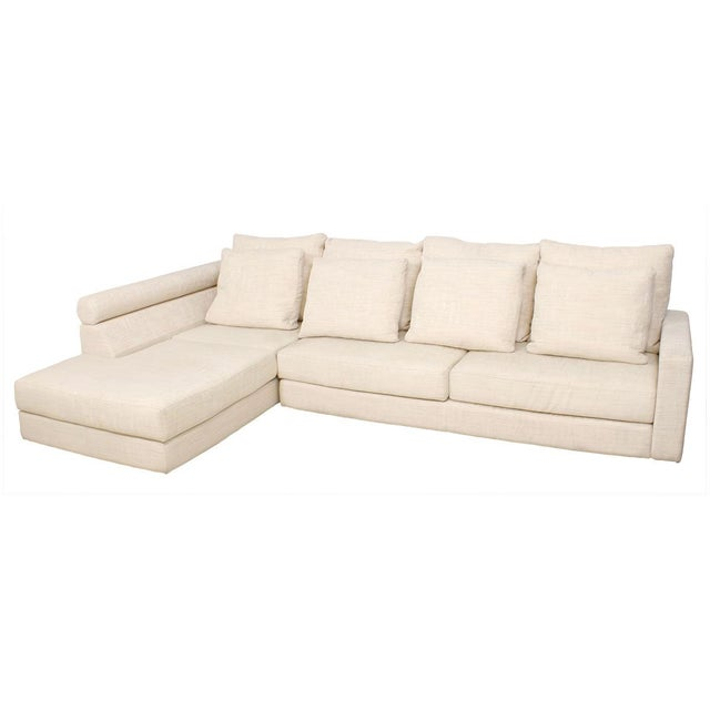 Roche bobois sectional sofa chairish for Chaise roche bobois