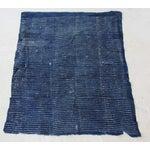 Image of Vintage Indigo African Lulu Mud Cloth