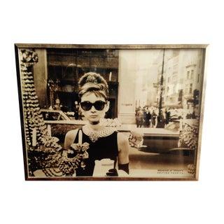Framed Audrey Hepburn Print