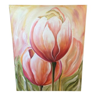 Large Tulips Painting