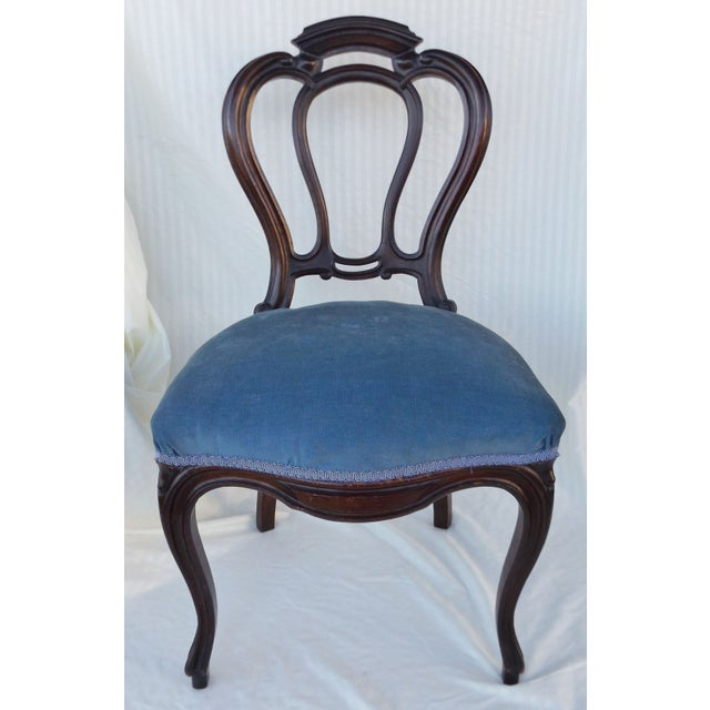 Victorian Ladies Parlor Accent Chair - Image 2 of 8