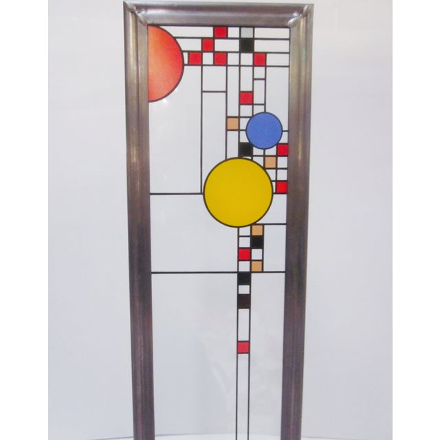 Image of Frank Lloyd Wright Stained Glass Panel