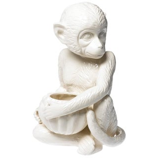 Ceramic Monkey Figurine