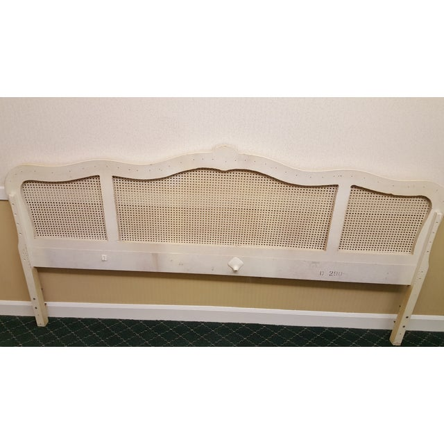 Image of French Provincial Cane Headboard