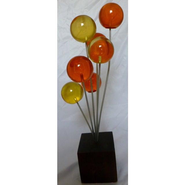 Mid Century Lucite Lollipop Sculpture - Image 2 of 9